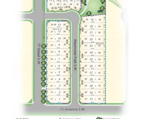 Calgary Site Plan